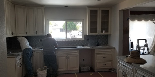 home repair and remodeling project